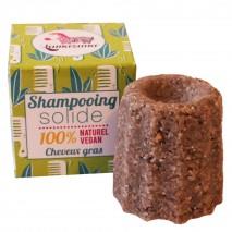 Festes Shampoo gegen fettendes Haar - Lamazuna
