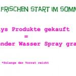 Wasser Spray von Coslys Gratis