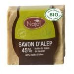 Bio-Aleppo Seife mit 45% Lorbeeroel