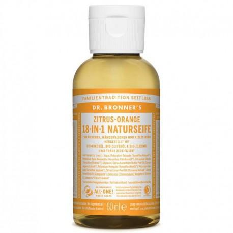 Flüssige Seife Zitrus-Orange - Dr Bronner's