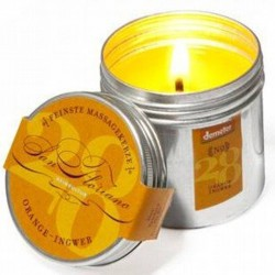 Massagekerze Orange-Ingwer - San Floriano